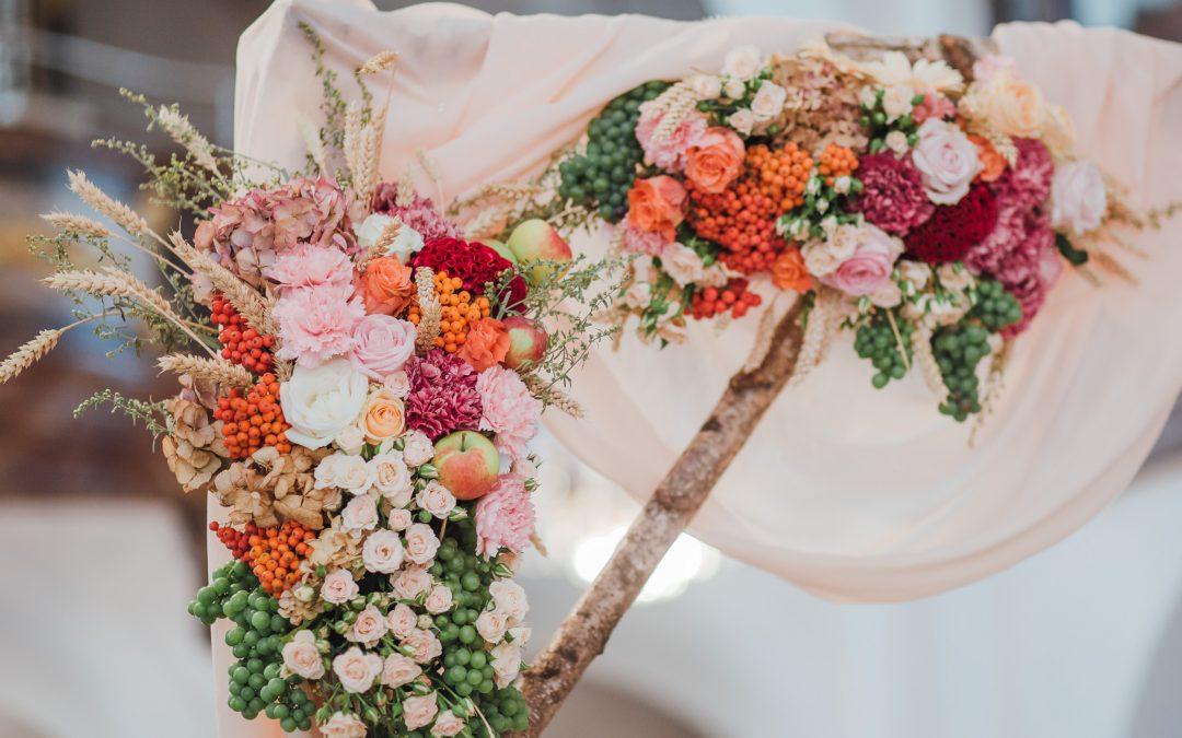 Quanto costano gli allestimenti floreali per un matrimonio?