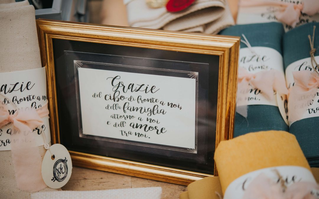 Le bomboniere del matrimonio: un ringraziamento prezioso per i tuoi ospiti